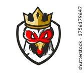 King Rooster Mascot Logo Design ...