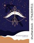 modern magic witchcraft card... | Shutterstock .eps vector #1756204511