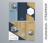 brochure design  brochure...   Shutterstock .eps vector #1756249634
