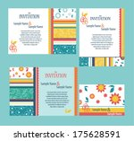 set of ornate vector frames.... | Shutterstock .eps vector #175628591