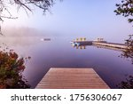 View Of A Boat Dock The Lac...