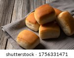 Close Up Of A Dinner Roll Pan...