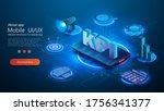 kpi business performance...   Shutterstock .eps vector #1756341377