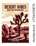 Desert Theme Illustration With...