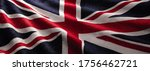 england flag wave close up for...   Shutterstock . vector #1756462721