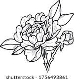 tattoo sketch art work beauty...   Shutterstock .eps vector #1756493861