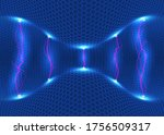 abstract energy formation.... | Shutterstock .eps vector #1756509317