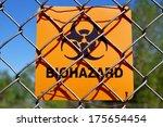Biohazard Zone. Biohazard Sign...