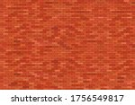 brown brick wall vector... | Shutterstock .eps vector #1756549817