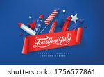 independence day usa banner... | Shutterstock .eps vector #1756577861