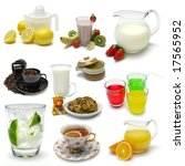 Sampler Of Various Beverages O...
