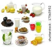 Sampler Of Various Beverages O...