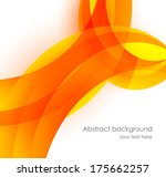 abstract orange background | Shutterstock .eps vector #175662257