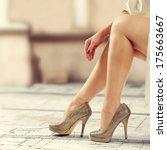 legs  | Shutterstock . vector #175663667