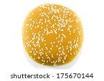 burger bread rolls on white...   Shutterstock . vector #175670144