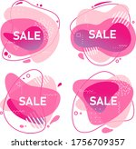 abstract trendy vivid vector...   Shutterstock .eps vector #1756709357