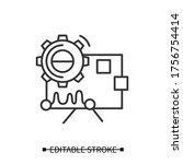 Performance Analysis Icon.gear...