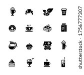 coffee shop icons    black... | Shutterstock .eps vector #1756777307