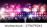 crowd of businesspeople... | Shutterstock . vector #175679261