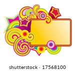 candy frame | Shutterstock .eps vector #17568100