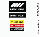 vintage typographic design... | Shutterstock .eps vector #1756836731