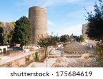 the maiden tower  baku ...   Shutterstock . vector #175684619