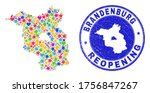celebrating brandenburg land... | Shutterstock .eps vector #1756847267