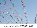 colorful flags | Shutterstock . vector #175691441