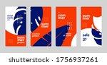 social media story mobile... | Shutterstock .eps vector #1756937261