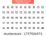 essential ui icons set....