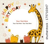 Birthday Card With Happy...