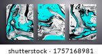 abstract liquid placard  fluid... | Shutterstock .eps vector #1757168981