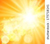 abstract wave  light vector... | Shutterstock . vector #175718141