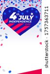 4th of july independence day....   Shutterstock .eps vector #1757363711