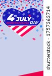 4th of july independence day....   Shutterstock .eps vector #1757363714