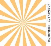 abstract sunburst or sunbeams... | Shutterstock .eps vector #1757395907