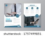 corporate business cover  back... | Shutterstock .eps vector #1757499851