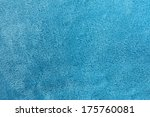 A Turquoise Blue Background Of...
