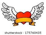 traditional tattoo style vector ... | Shutterstock .eps vector #175760435