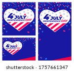 4th of july independence day....   Shutterstock .eps vector #1757661347