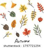 Autumn Dead Leaves Illustration ...