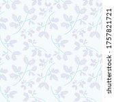 gentle botanical composition....   Shutterstock . vector #1757821721