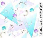 seamless geometric pattern....   Shutterstock . vector #1757835017