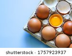 Chicken Egg Is Half Broken...