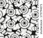seamless pattern vector  | Shutterstock .eps vector #175794071
