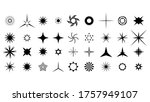 set black collection star icons ...   Shutterstock .eps vector #1757949107