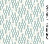 seamless ripple pattern.... | Shutterstock .eps vector #175806821