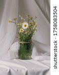 conceptual rustic jar vase... | Shutterstock . vector #1758083504