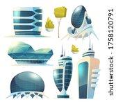 Future City  Futuristic Glass...