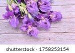 Bouquet In A Bunch Of Purple...